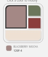 Blackberry Mocha from Behr paints
