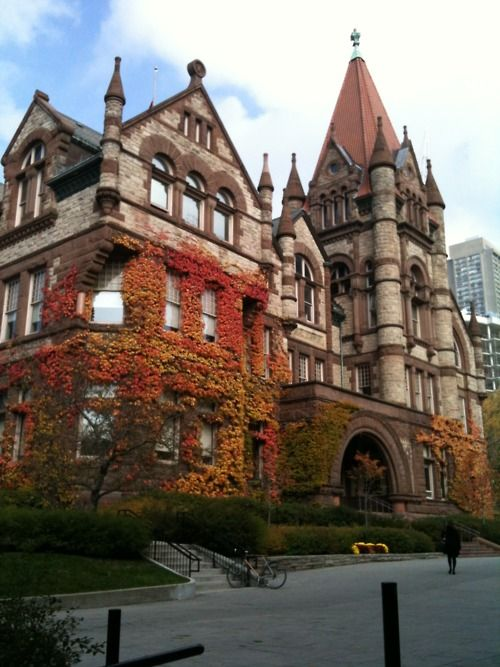 Victoria University of the University of Toronto- I am a Victorian:) love my school.