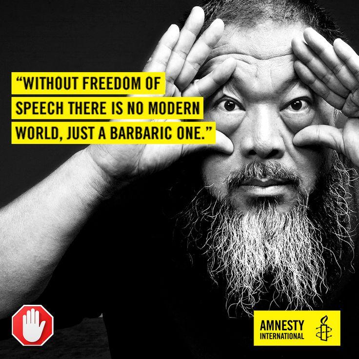 12 de março, Dia mundial contra Cyber Censura. Anistia Internacional