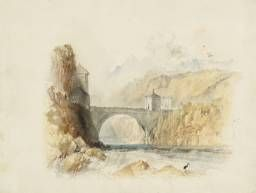 Joseph Mallord William Turner 'St Maurice, for Rogers's 'Italy'', c.1826–7