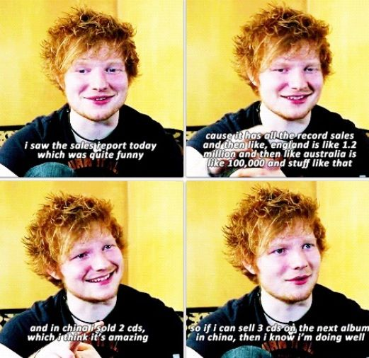 Like really, how can you NOT love Ed Sheeran??