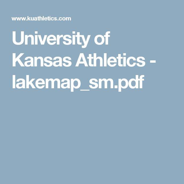 University of Kansas Athletics - lakemap_sm.pdf
