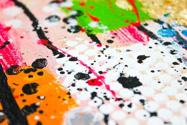 Ber ideen zu selbstgemachte leinwand auf pinterest hausgemachte leinwand kunst - Wanddekoration selber machen ...
