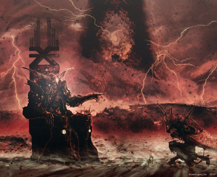 23 best images about The Four Dark Gods on Pinterest ... Warhammer 40k Good Chaos Gods