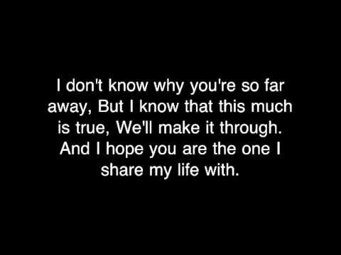 Daniel Bedingfield - If You're Not The One [HQ with Lyrics] - YouTube