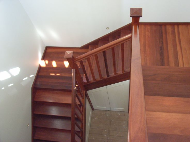 Solid Hardwood  Staircase
