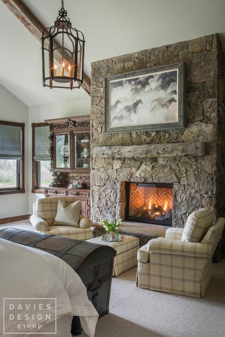 Davies Design Group - Mountain Ranch Master Bedroom