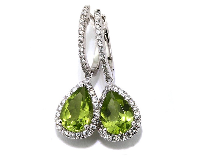 Ladies, how about treating yourself to a pair of Diamond and Peridot Drop Dangle Earrings? Many smokers save about 50-70% when they switch over to e-cigarettes! #savemoney #quit