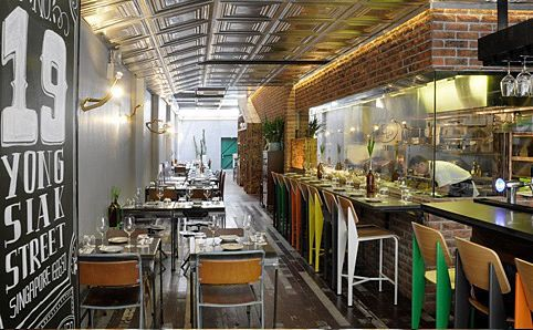 Open Door Policy - A newbie from chef owner Ryan Clift of the Tippling Club, partnering with Spa Esprit and Harry Grover of 40 Hands, this casual bistro is already drawing the crowds. 19 Yong Siak St. (http://www.timeoutsingapore.com/restaurants/modern/open-door-policy#)