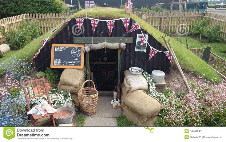 anderson shelter drawing - Google Search