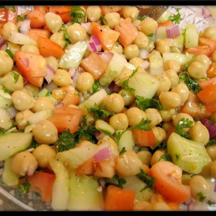 Cucumber and Garbanzo Bean Salad Recipe Great Daniel Fast meals