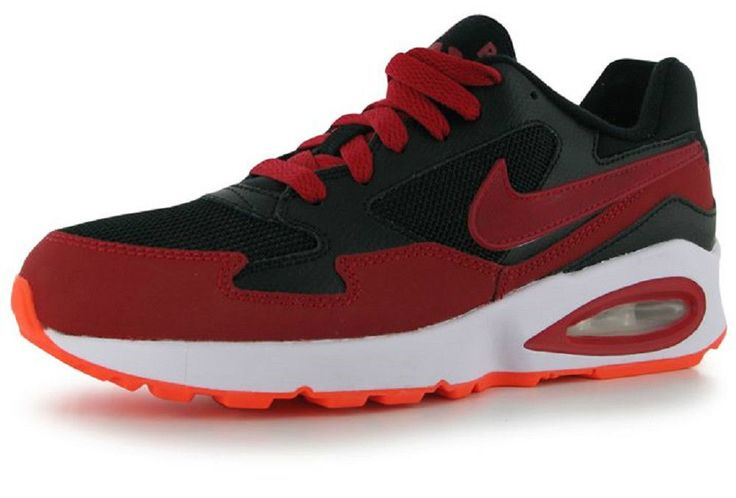 Nike Air Max ST Womens Older Boys Trainers Red Black UK size 5.5  EU38.5  NEW