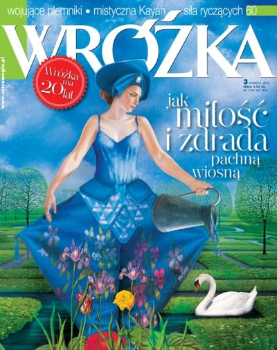 """""""WRÓŻKA"""" marzec 2014"""