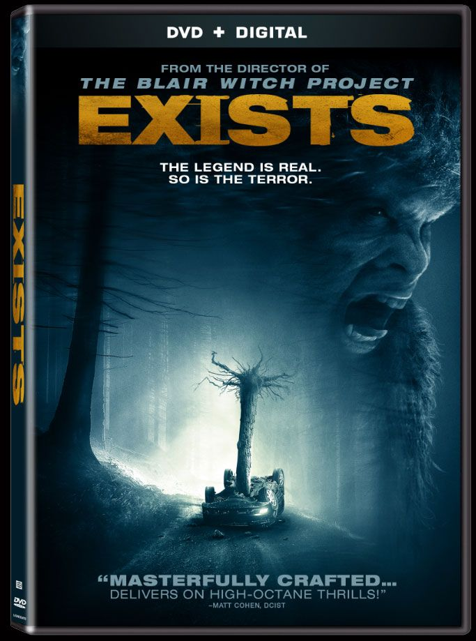 Being called one of the best Bigfoot movies to date Exists DVD release has finally arrived.