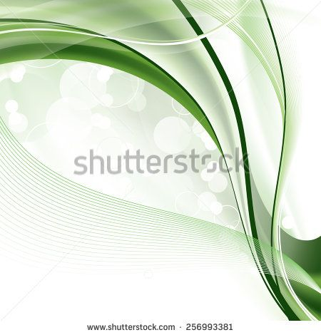 Modern Background with Wavy Lines.