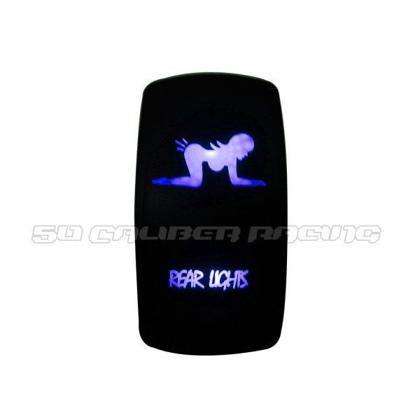 Details About 2014 Polaris RZR Blue Rear Lights Switch