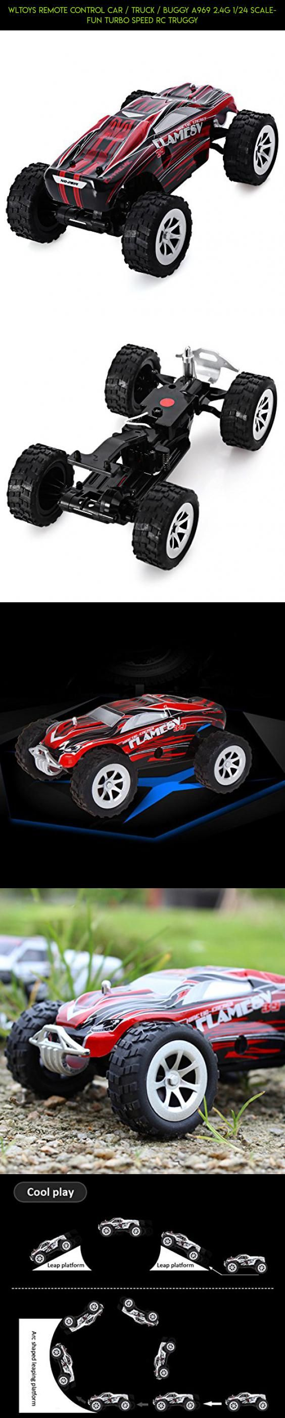WLtoys Remote Control Car / Truck / Buggy A969 2.4G 1/24 Scale- Fun Turbo Speed Rc Truggy #fpv #products #kit #plans #tech #technology #parts #a999 #gadgets #drone #racing #wltoys #camera #shopping