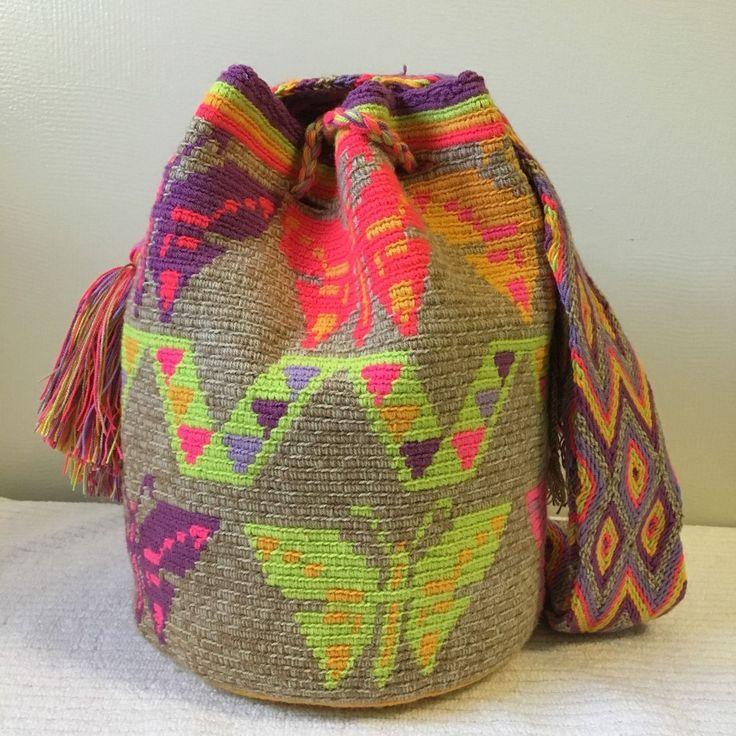 Bag Pinterest Mochila Crochet Patterns