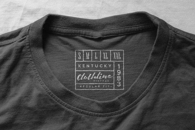 Download Logo Mockup T Shirt Neck Label
