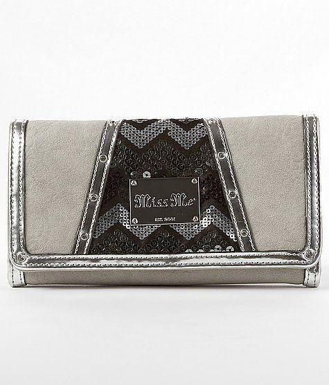 """""""Miss Me Sequin Wallet"""" www.buckle.com"""