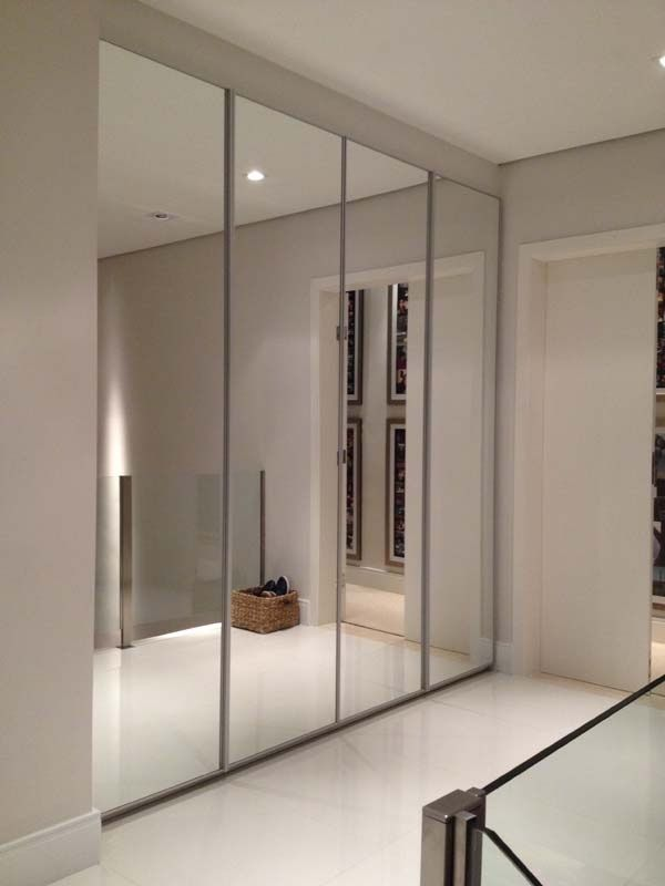 Mirror Closet Door 1 B DIY Amp Crafts Bedroom Cupboards