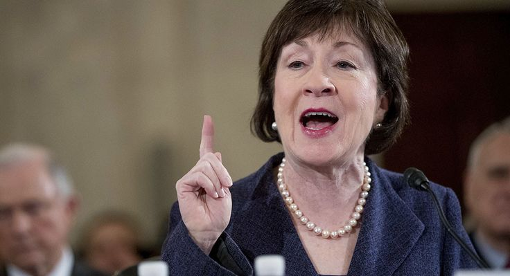2/22/2017 - Sen. Susan Collins calls for Flynn to testify in front of senate committee investigating Trump ties to Russia