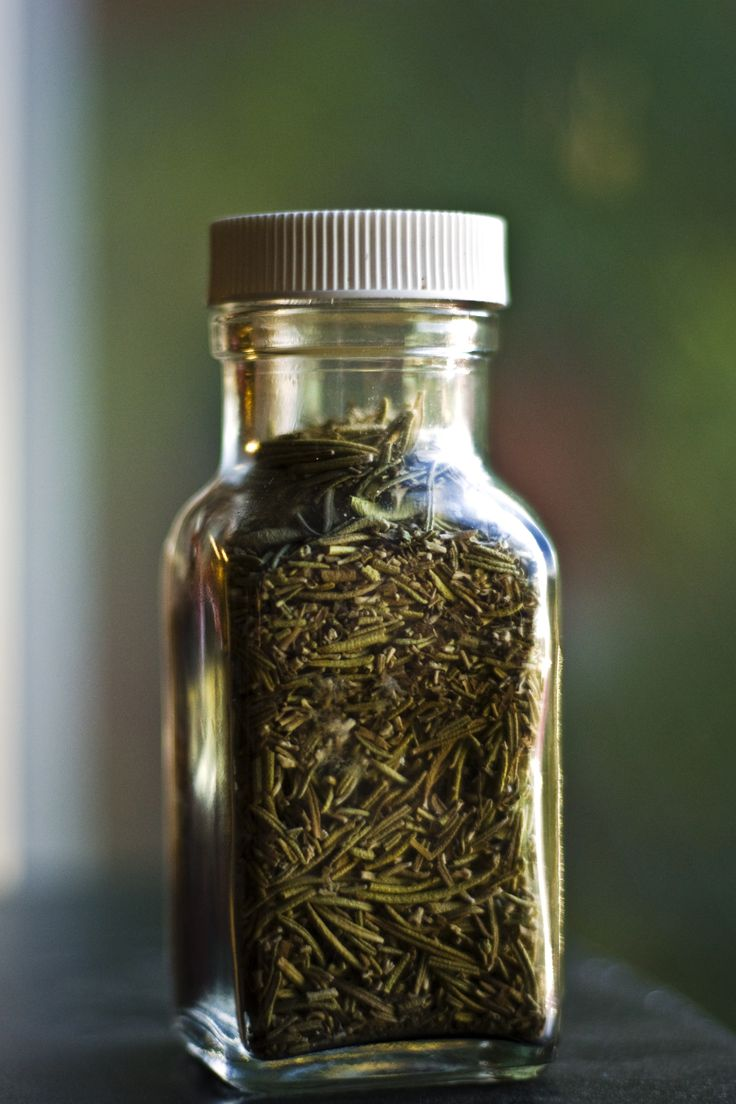 DIY: rosemary and lavender softening hair rinse