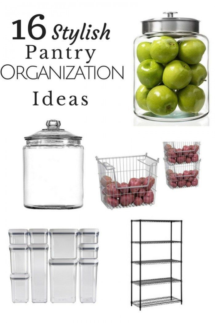 Get your home set up right with these 16 Stylish pantry organization ideas! #pantry #organization