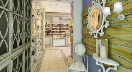Дизайн пекарни, интерьер пекарни