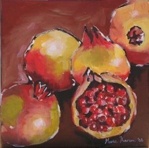 Marie Theron - Pomegranates I