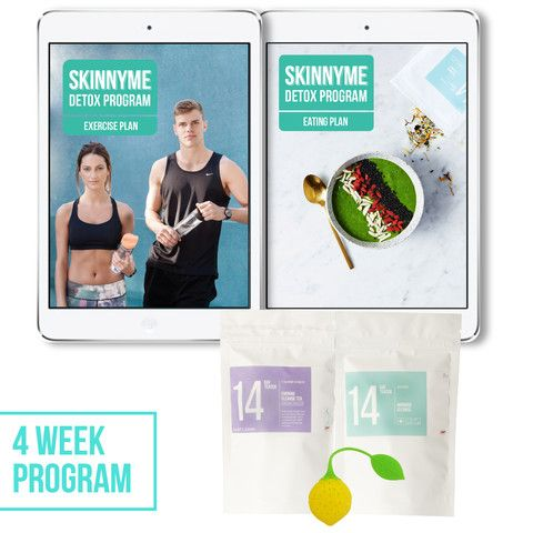 SkinnyMe Detox Program - 4 Weeks - SkinnyMe Tea  - 1