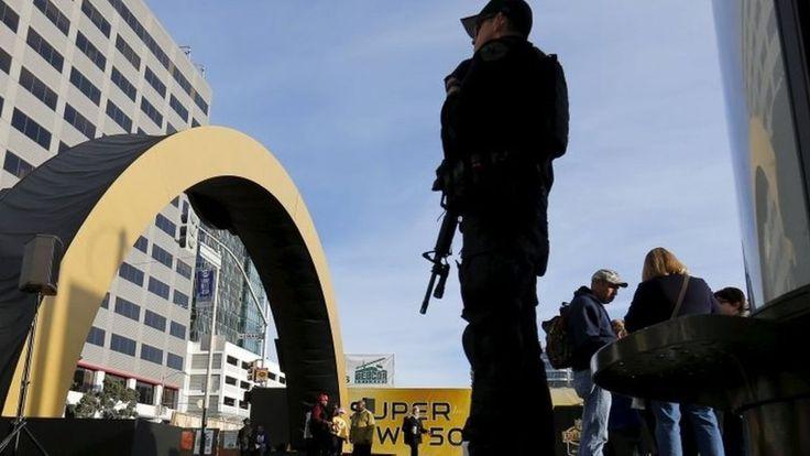 Super Bowl 50: Santa Clara security tight ahead of big game #U_S_A_ #iNewsPhoto