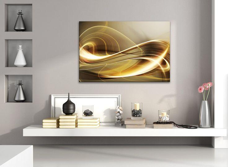 e-WallSticker.gr Πίνακας καμπύλες αφηρημένη τέχνη - Διαλέξτε τον πινάκα σε καμβά που ταιριάζει στα δωμάτια σας μέσα από τη μεγάλη συλλογή