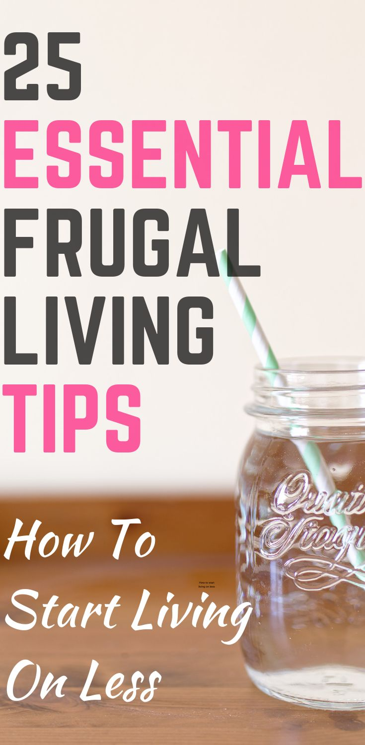 25 Awesome Living Room Design Ideas On A Budget: How To Be Frugal: 25 Awesome Frugal Living Tips
