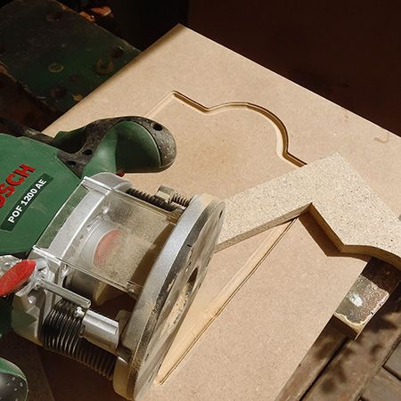 Being Able To Use A Router To Make Decorative Kitchen Cabinet Doors Allows You To Replace