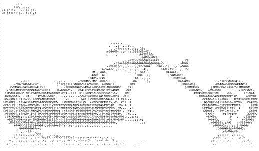 One Line Ascii Art Motorcycle : Best ideas about ascii art on pinterest one line