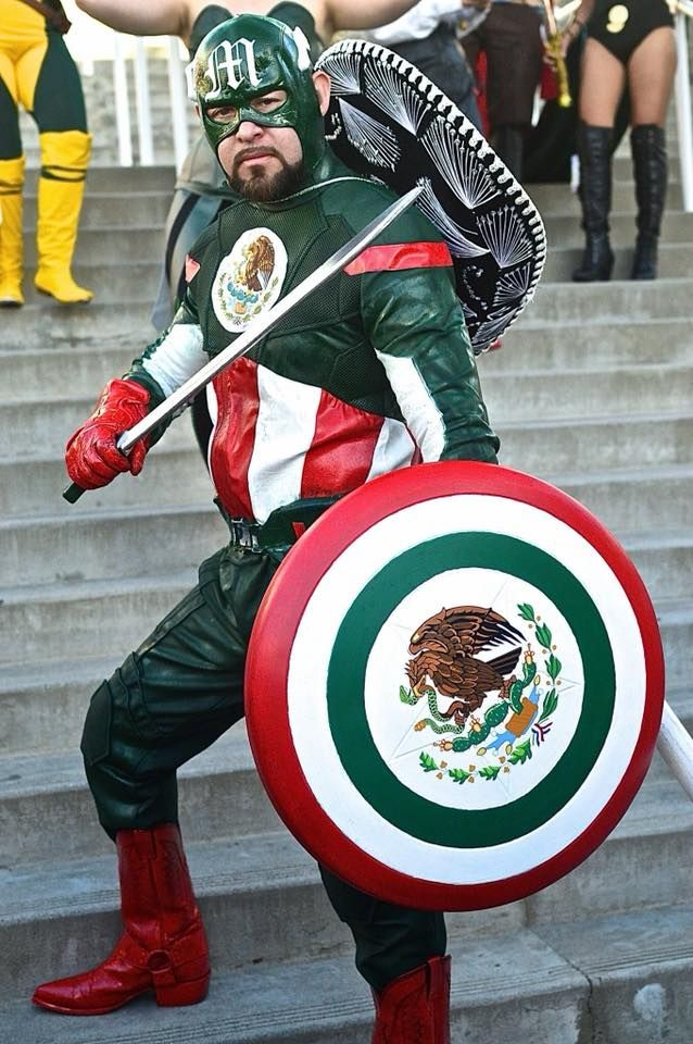 Image result for captain mexico costume