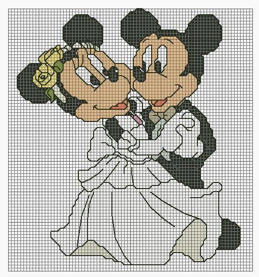 topolino e minnie sposi