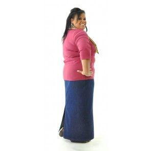 9ed9b62b71e Long Jean Skirt   Womens Plus Size