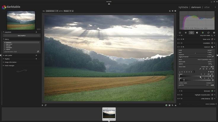 Free open source Lightroom alternative Darktable is now available for Windows. Previously only on Linux and MacOS, the raster graphics editor is aimed at non-destructive raw photo post-production and is primarily focused on improving a photographer's workflow by facilitating the handling of large numbers of images. The free application features: Non-destructiveediting throughout the complete workflow, …