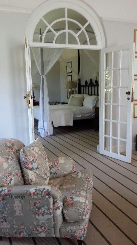 Lounge at Victoria Falls Hotel in Zimbabwe