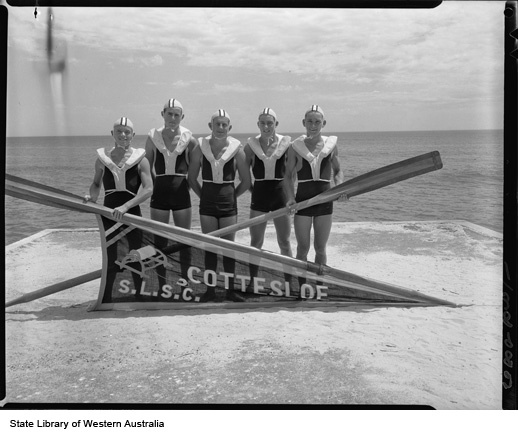 Cottesloe Surf Club, 1955.