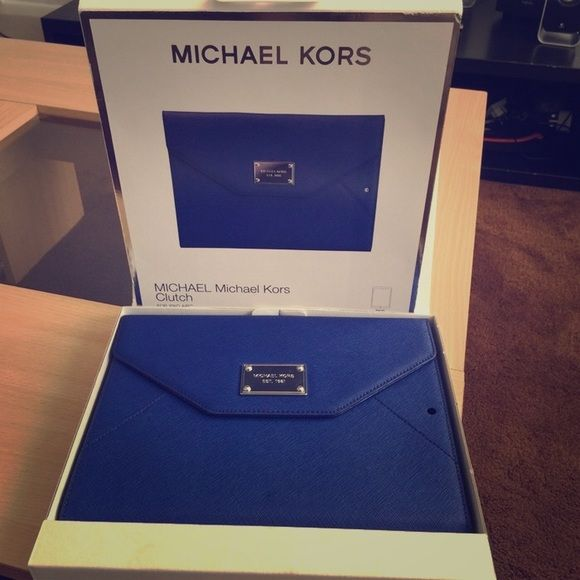Blue Michael Kors IPad Air Clutch Bag Brand new in box! Last picture is to & 48 best I pad cases images on Pinterest | Ipad mini cases Ipad ... Aboutintivar.Com