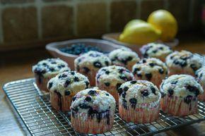 blåbärsmuffins utan ägg