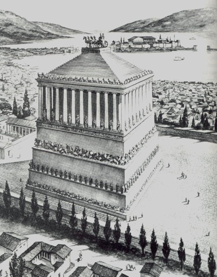 mausoleum in halikarnas, 4. B.C.