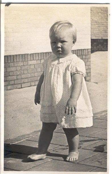 Beatrix in de zomer van 1939