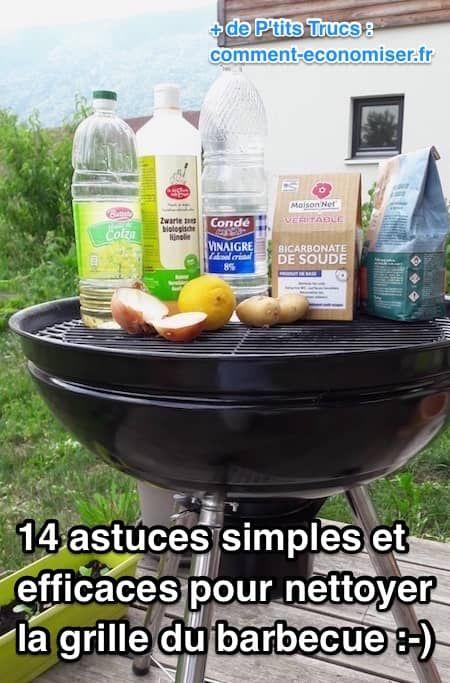 Nous avons sélectionné pour vous 14 astuces pour nettoyer la grille de votre barbecue facilement. Et tout cela, sans utiliser de produits chimiques nocifs pour la santé. Fini la corvée de nettoyage !  Découvrez l'astuce ici : http://www.comment-economiser.fr/14-astuces-efficaces-nettoyer-grille-barbecue-facilement.html?utm_content=buffer064b9&utm_medium=social&utm_source=pinterest.com&utm_campaign=buffer
