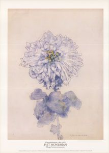 Chrysanthemum, after 1921 Piet Mondrian