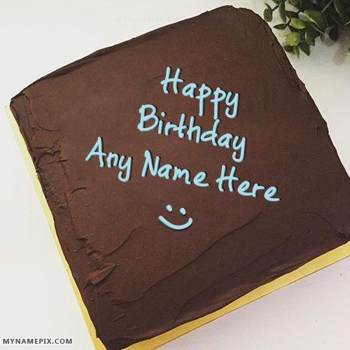 Birthday Greetings Cake Photo