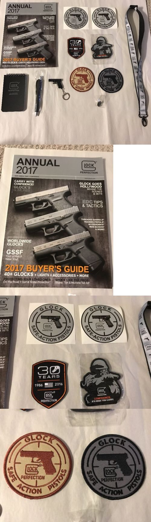 Other Tactical and Duty Gear 177902: Shot Show 2017 Glock Lot Lanyard Gun Keychain Pen Patches Lapel Pin Decals ++ -> BUY IT NOW ONLY: $43 on eBay!